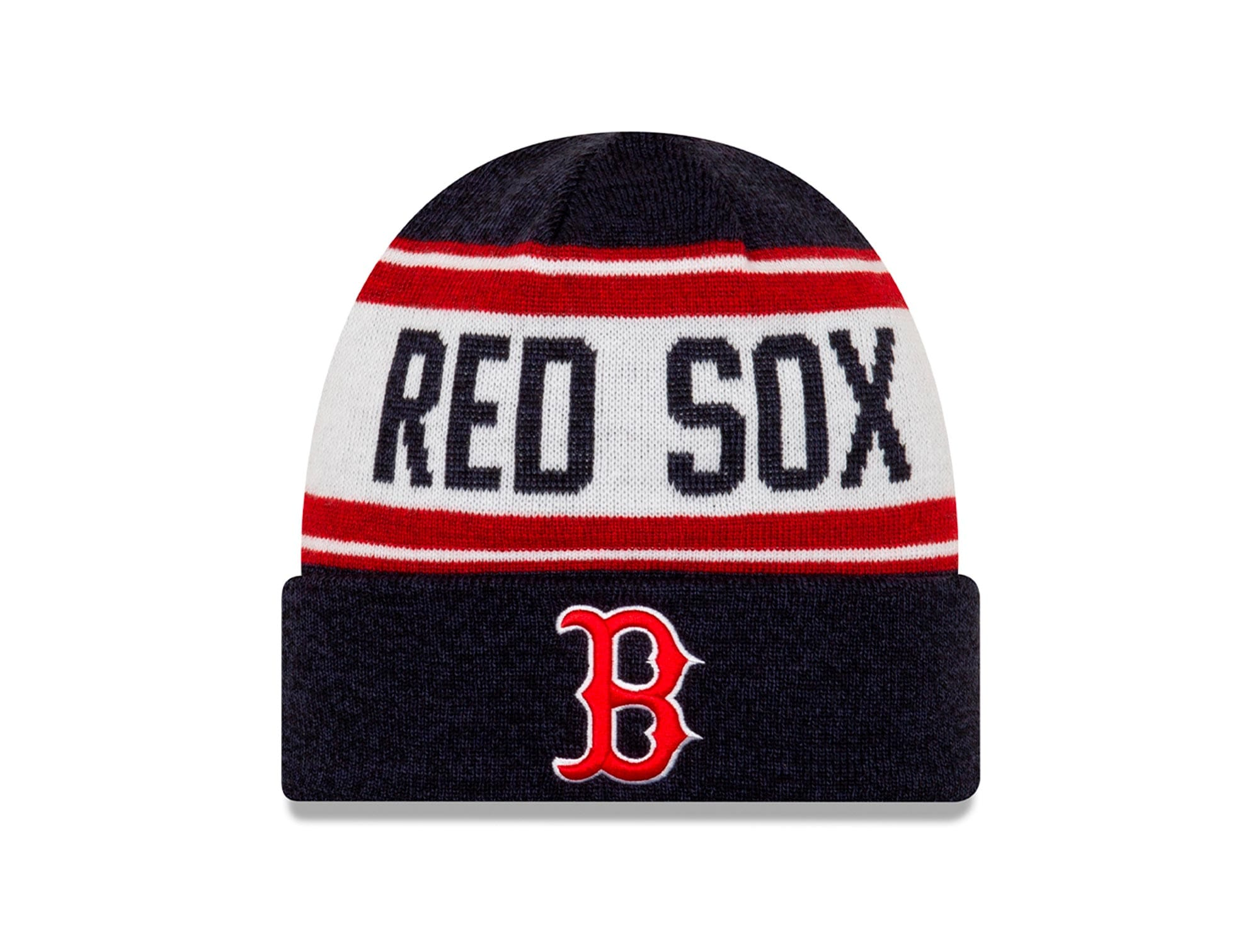 Beanie New Era Boston Red Sox Unisex Negro