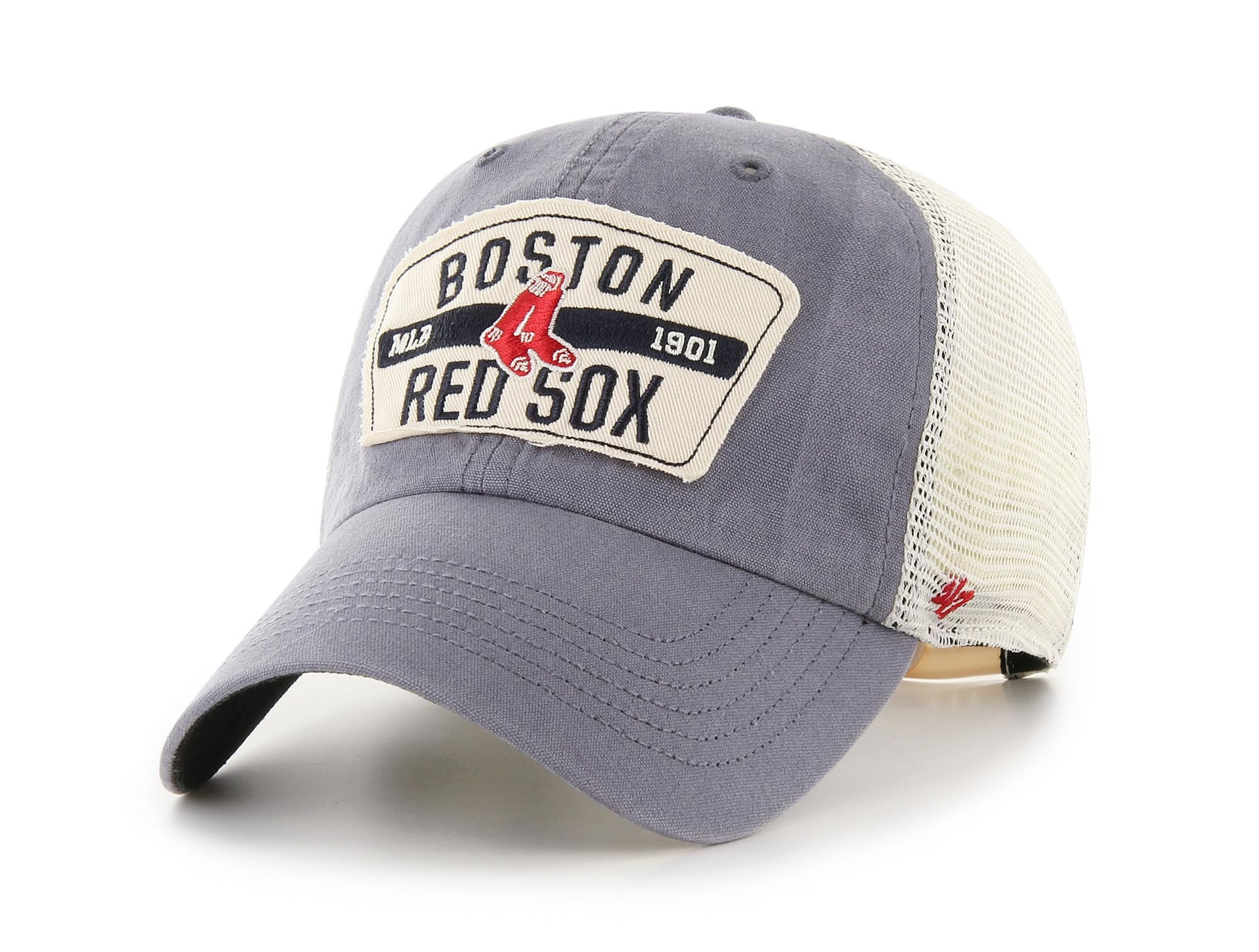 Jockey 47 Boston Red Sox Cooperstown Hombre Gris