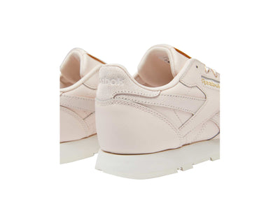 Zapatilla Reebok Cl Leather Cadete Rosado