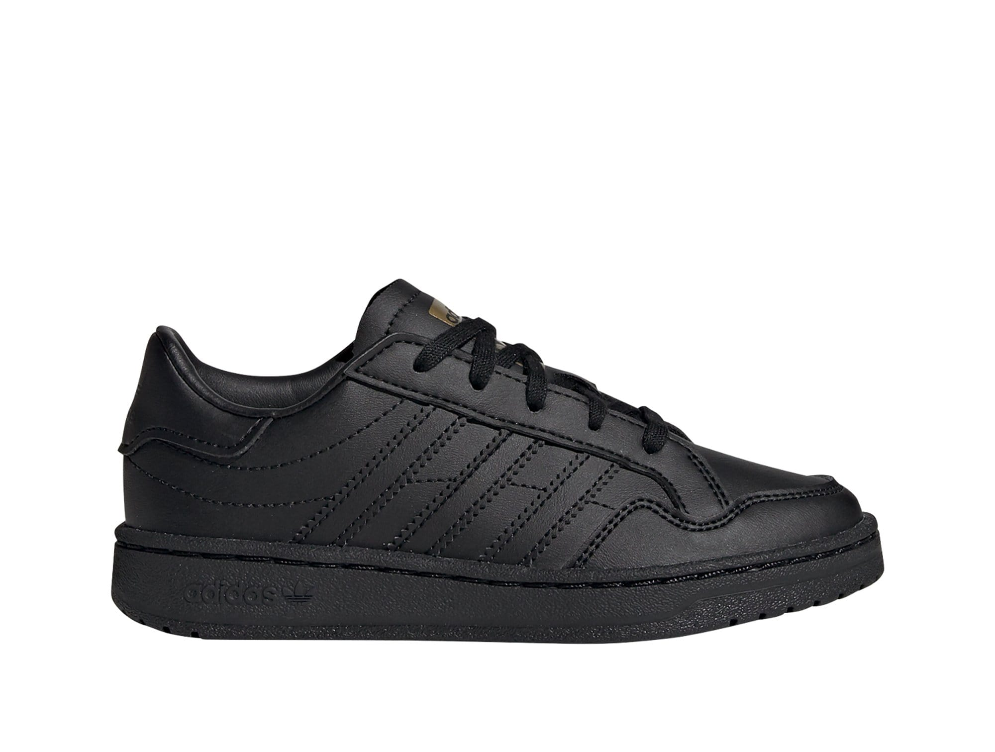 Zapatilla Adidas Team Court Junior Negro