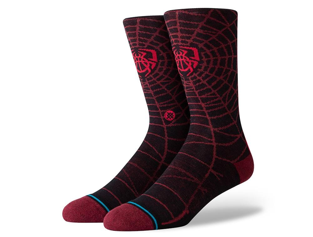 Calcetin Stance SpiderMan Hombre Negro