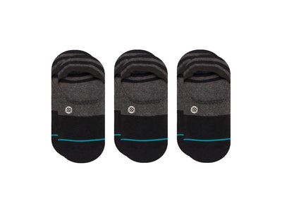 Calcetin Stance Pack x3 Gamut Hombre Negro