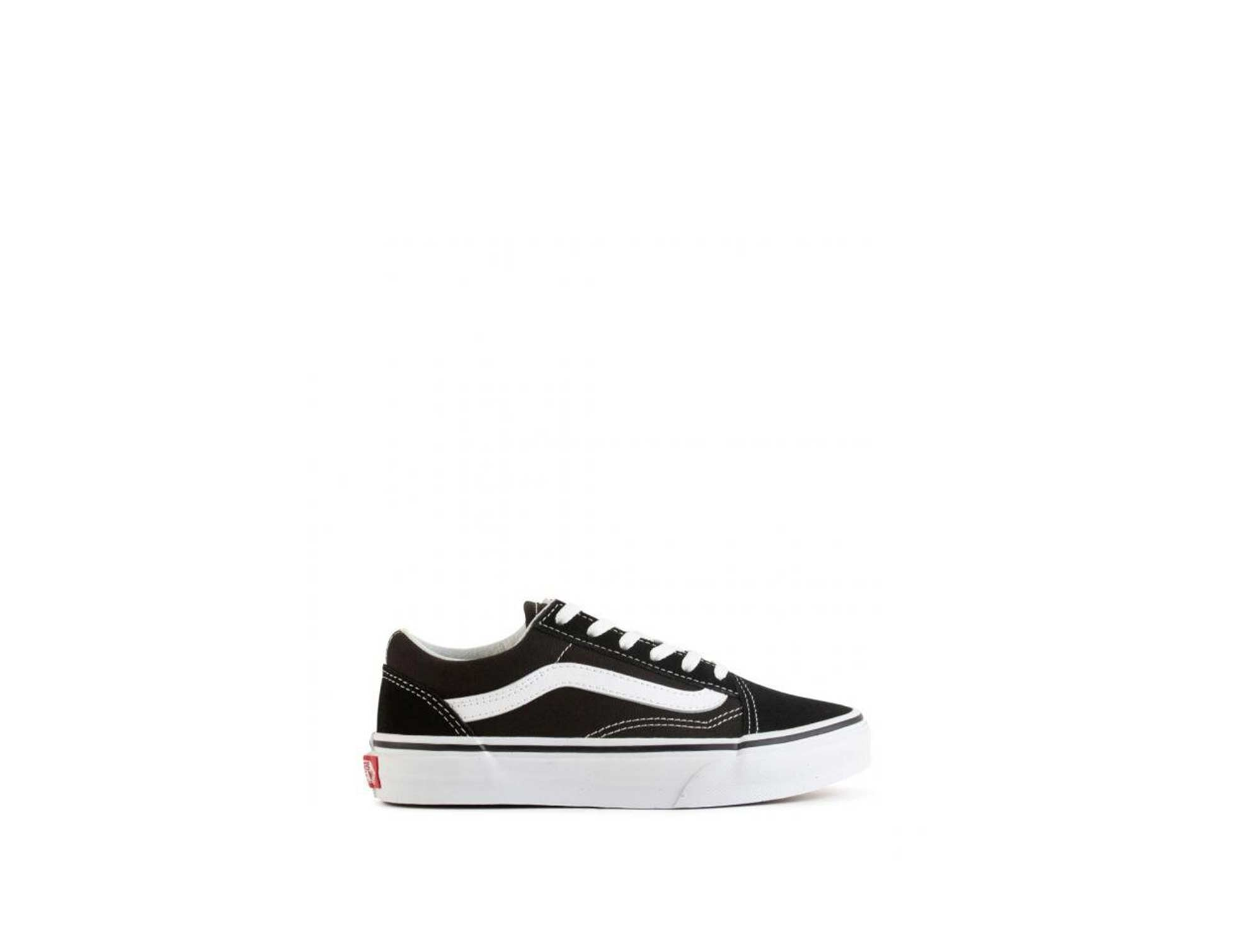 Zapatilla Vans Old Skool Junior Negro
