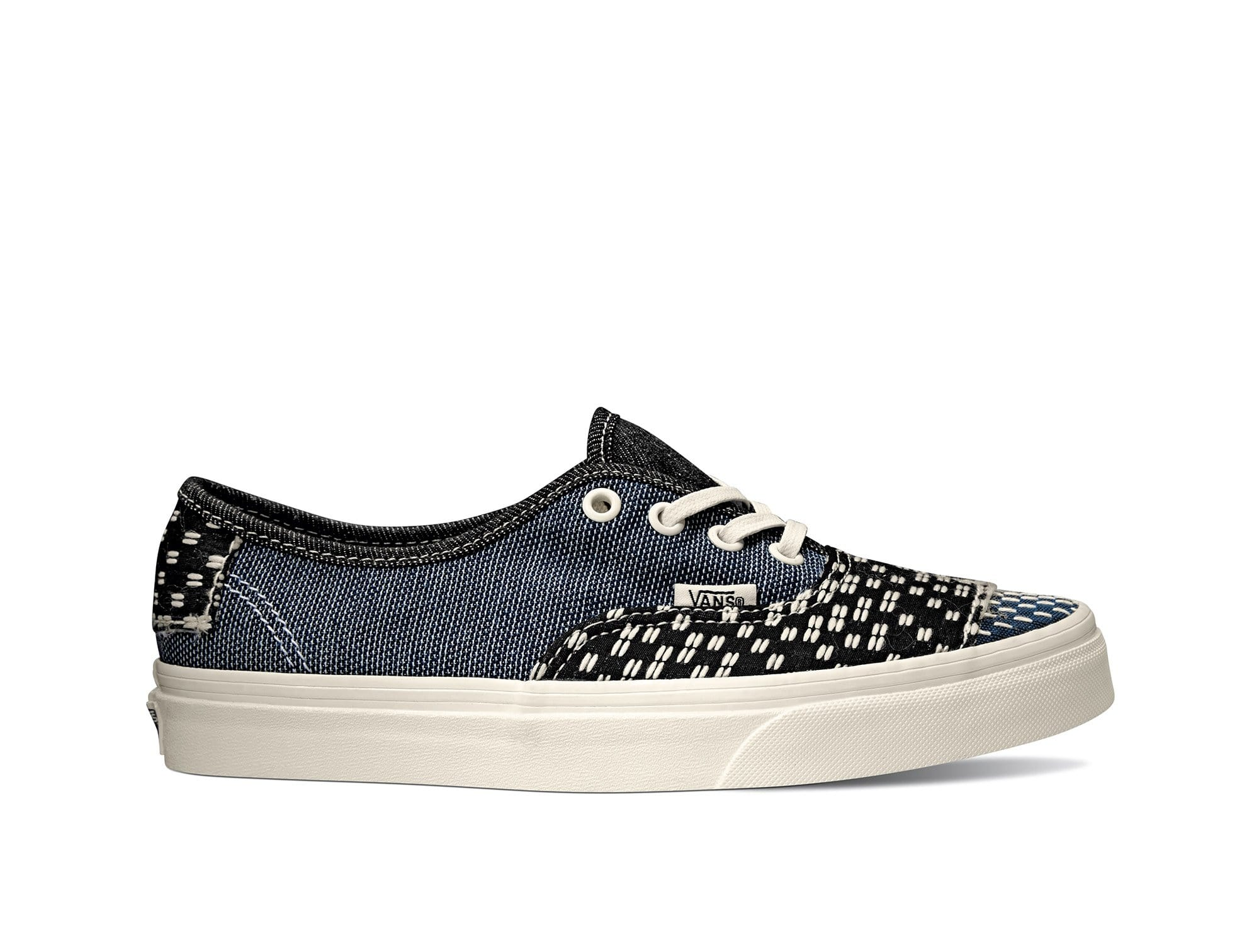 Zapatilla Vans Authentic Patchwork Mujer Negro