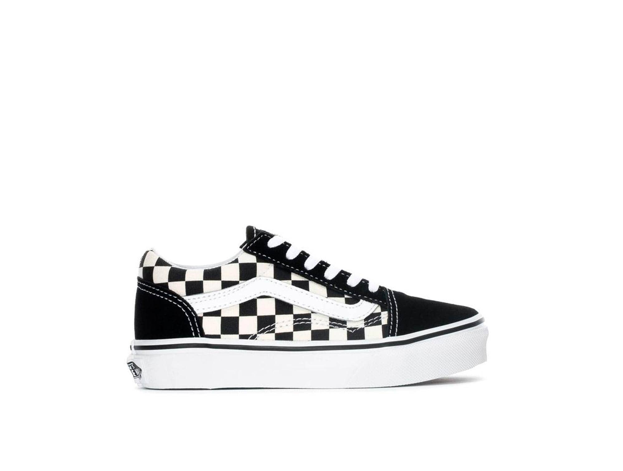 Zapatilla Vans Old Skool (Primary Check) Junior Negro