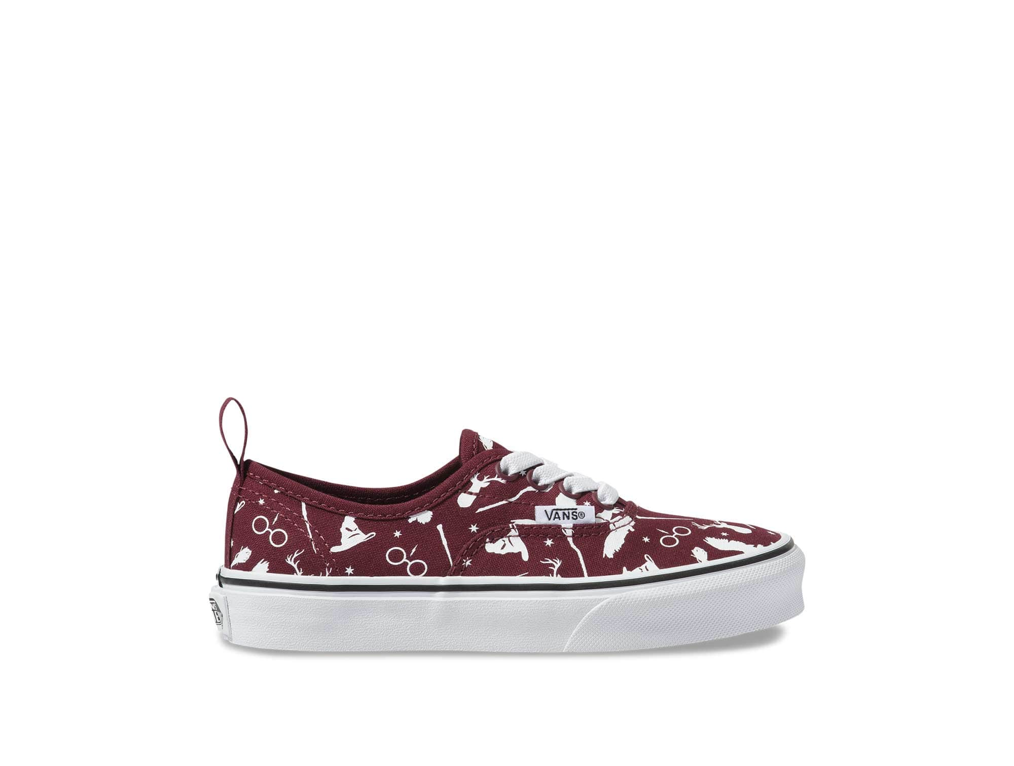 Zapatilla Vans Authentic Harry Potter Junior Burdeo