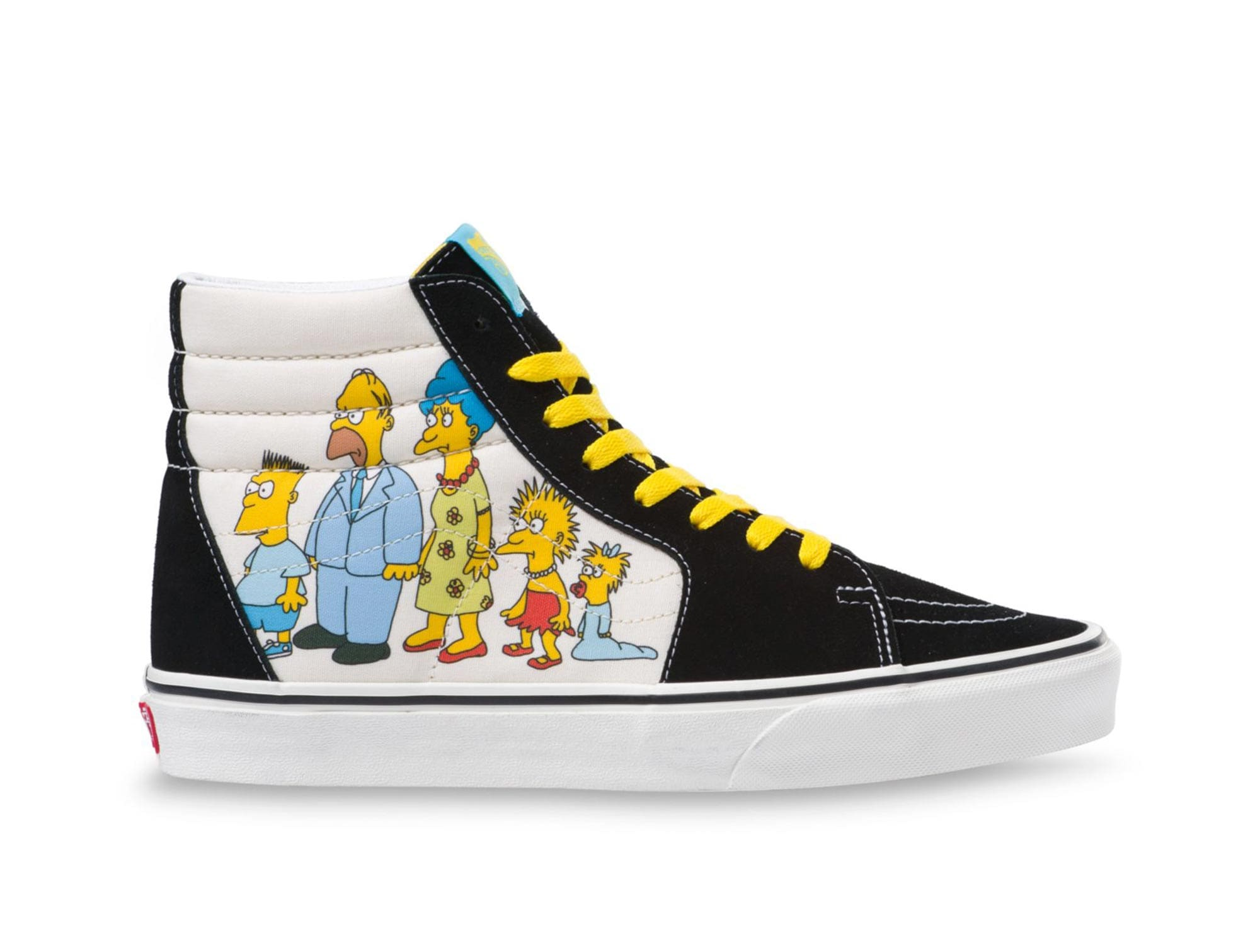 Zapatilla Vans Sk8-Hi The Simpsons 1987-2020 Unisex Negro