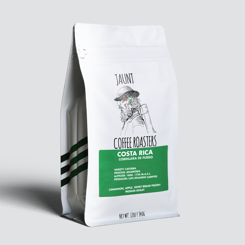 Costa Rica - Cordillera del Fuego - Medium Roast - Jaunt Coffee Roasters