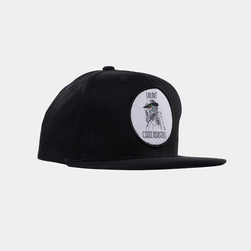 Black Snapback Hat - Apparel - Jaunt Coffee Roasters