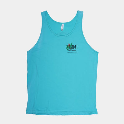 Teal Tank Top - Jaunt Coffee Roasters