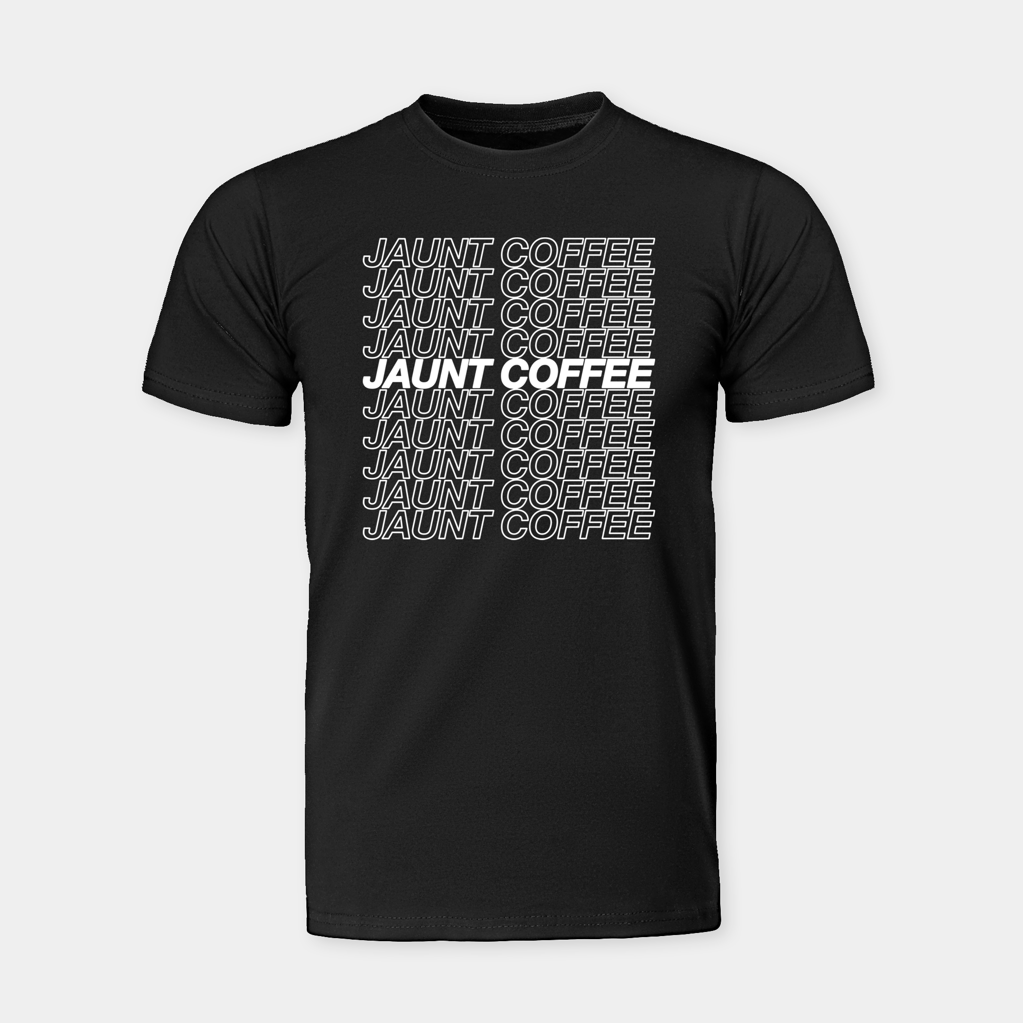 "Black ""Repeat"" T-Shirt"