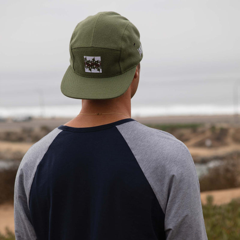 Melton Wool Hat - Olive - Apparel - Jaunt Coffee Roasters