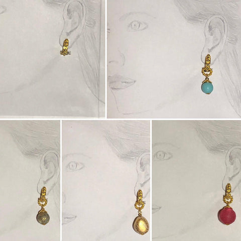 Accessorise all your outfits, by choosing one earring clip, and multiple drops to suit your mood and favourite clothes