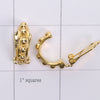 Mix and match Gold plated bobble earring clip