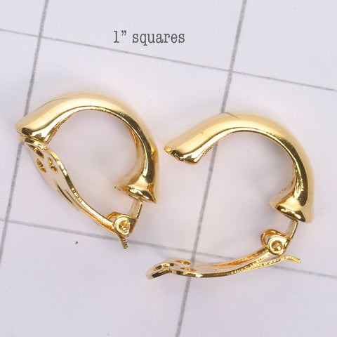 Mix and match Gold earring clip