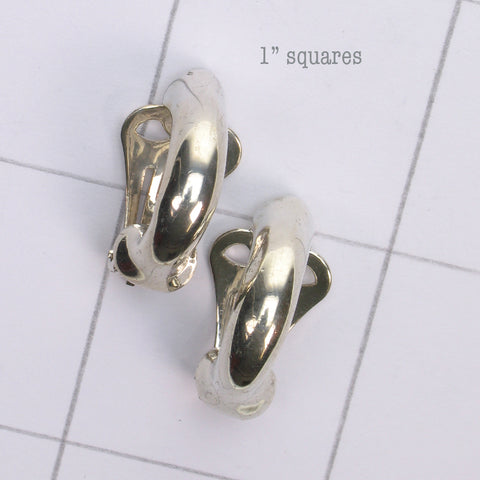 Mix and match Silver earring clip