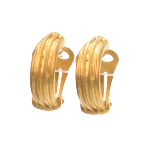 Mix and match Gold frost earring clip