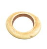 Antique Ivory Resin oval bangle