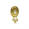 Pearl and Gold plated french Vintage earring