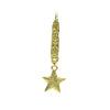 Gold frost vintage star drops