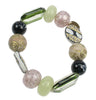 Stretch green bracelet