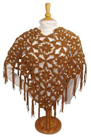 Suede Poncho Free Pattern Maggie S Crochet