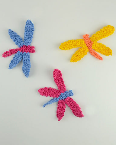 Dragon Fly Free Pattern Maggies Crochet
