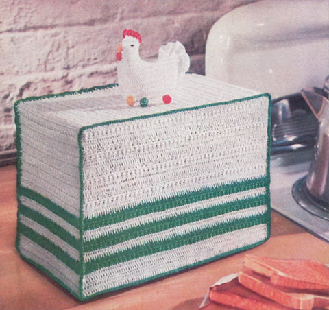 Rooster Toaster Cover Free Pattern Maggie S Crochet