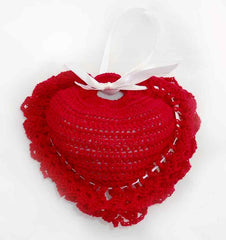 Red Heart Sachet Free Crochet Pattern Maggie S Crochet
