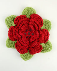 Wild Irish Rose Free Crochet Pattern Maggie S Crochet