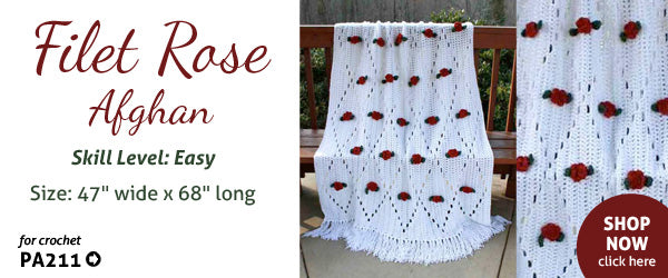 Wild Rose Free Crochet Pattern Maggies Crochet