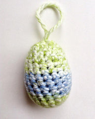 Use Any Yarn One Size Smaller Hook Than The Label Recommends Open Plastic Egg Make Beginning Circle As Large Widest Half Of And Then Work