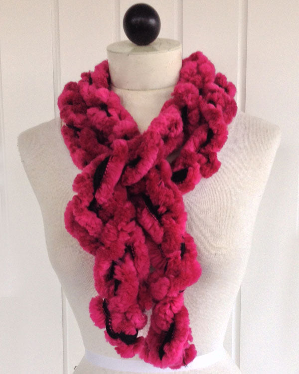 3 Minute Starbella Arctic Finger Hand Chained Scarf Free