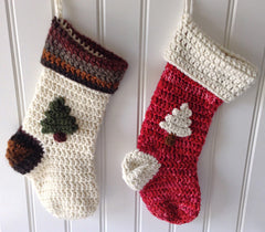 christmas stocking free crochet pattern