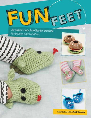 Fun Feet - 30 Super Cute Booties to Crochet - Maggie's Crochet