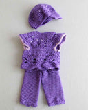 "18"" Dolls Lindy, Lauren, and Lola Crochet Pattern - Maggie's Crochet"