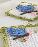 Bluebird Kitchen Set Crochet Pattern - Maggie's Crochet