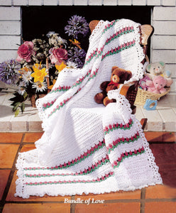 Bundle of Love Afghan Crochet Pattern - Maggie's Crochet