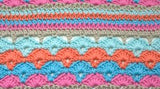 40 Colorful Afghans to Crochet: A Collection of Eye-Popping Stitch Patterns, Blocks & Projects - Book - Maggie's Crochet