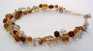 Brown Beaded Jewelry