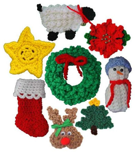 Christmas Ornaments Set 2 Crochet Pattern - Maggie's Crochet