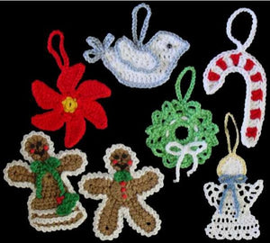 Christmas Ornaments Set 1 Crochet Pattern - Maggie's Crochet
