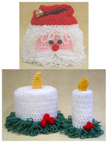 Christmas Tp Toppers Crochet Pattern Maggies Crochet