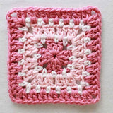 pink square coaster