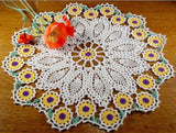 Flower Doily Set Crochet Pattern - Maggie's Crochet