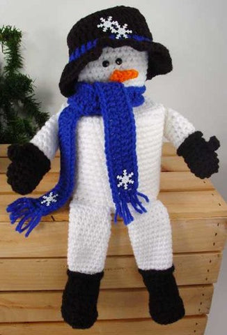 Winter Snowman TP Topper