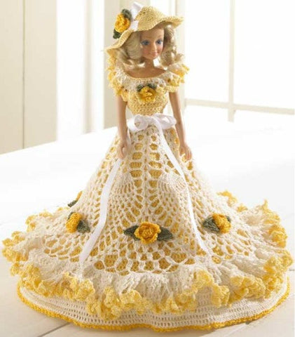 Fashion Doll Dress and Hat