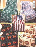 Holiday Afghans 1 Crochet Pattern Leaflet - Maggie's Crochet