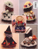 Holiday Broom Dolls 1 Crochet Pattern Leaflet - Maggie's Crochet