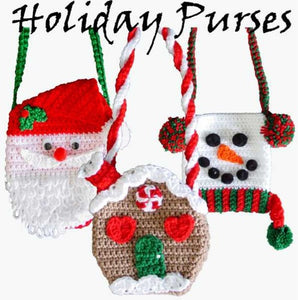 Holiday Purse Set 1 Crochet Pattern - Maggie's Crochet